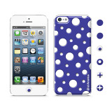 【iPhoneSE/5s/5 ケース】Cushi Dot Purple