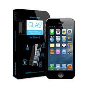 【iPhoneSE/5s/5c/5 フィルム】GLAS.t Premium Tempered Glass Screen Protector
