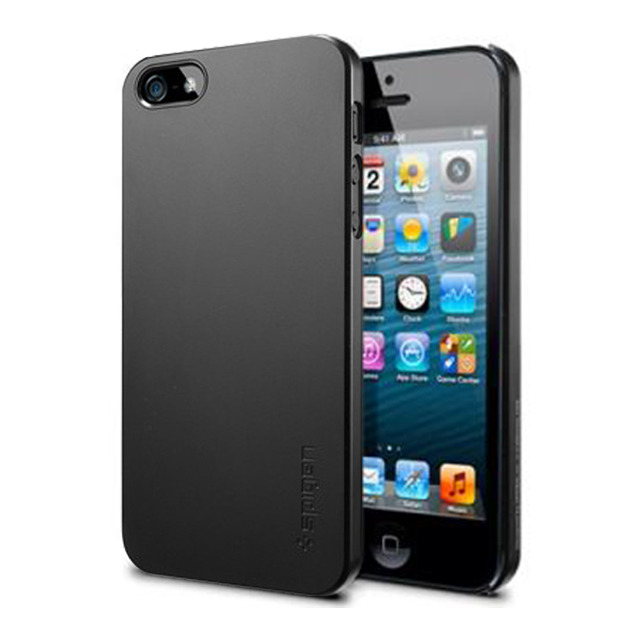 【iPhoneSE(第1世代)/5s/5 ケース】SPIGEN SGP Case Ultra Thin Air Smooth Black