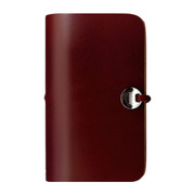 【iPhone4S/4 ケース】Leather Arc Cover_iPhone4/4S Wine