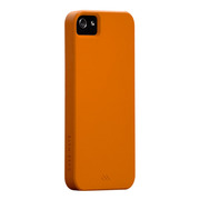 【iPhoneSE/5s/5 ケース】Barely There Case, Tangerine Orange