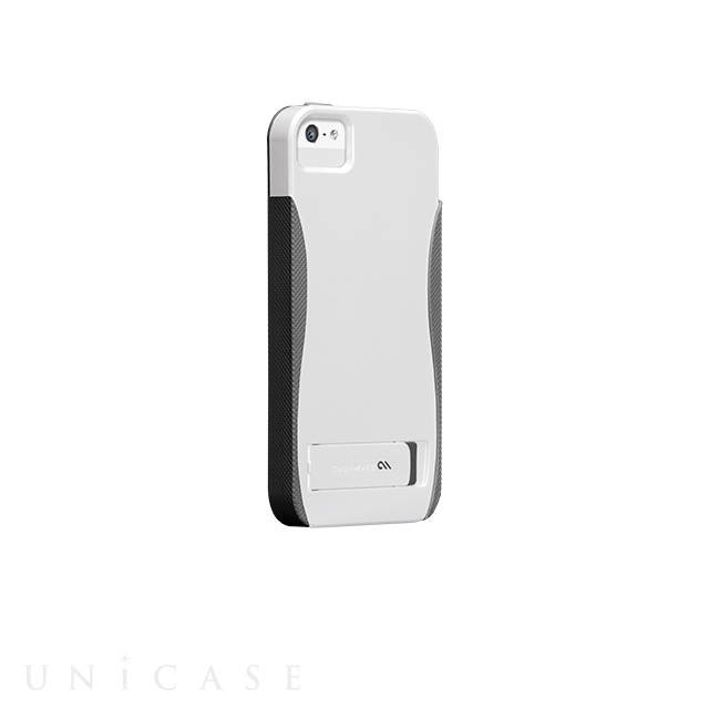 【iPhoneSE/5s/5 ケース】POP! with Stand Case (White/Titamium Grey)