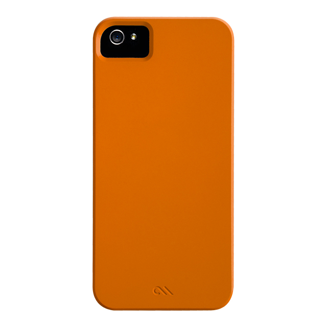 【iPhoneSE/5s/5 ケース】Barely There Case, Tangerine Orangeサブ画像