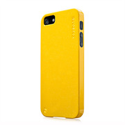 【iPhoneSE/5s/5 ケース】Soft Jacket Xpose Sparko Solid Yellow