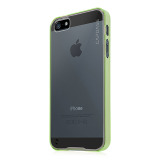 【iPhoneSE/5s/5 ケース】Soft Jacket Fuze DS Clear / Clear Green