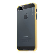 【iPhoneSE/5s/5 ケース】Soft Jacket Fuze DS Clear / Clear Yellow