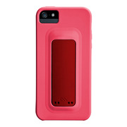 【iPhoneSE(第1世代)/5s/5 ケース】Snap Case (Lipstick Pink/Flame Red)