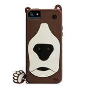 【iPhoneSE/5s/5 ケース】Creatures (Grizzly)