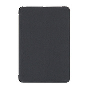 【iPad mini(初代) ケース】TUNEFOLIO Note for iPad mini ブラック
