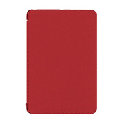 【iPad mini(初代) ケース】TUNEFOLIO Note for iPad mini レッド