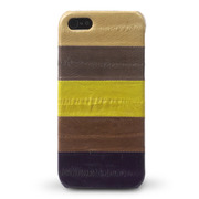 【iPhoneSE/5s/5 ケース】Prestige Eel Leather Bar (Multi Brown)