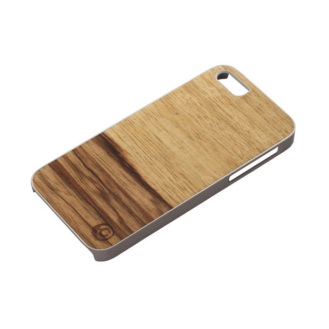 91764a461f 【iPhoneSE/5s/5 ケース】Real wood case Genuine Terra ホワイトフレームサブ ...
