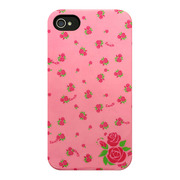 【iPhone4S/4 ケース】Petit Flower Rose