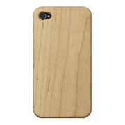 【iPhone4S/4 ケース】Nature wood/white