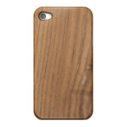 【iPhone4S/4 ケース】Nature wood/brown