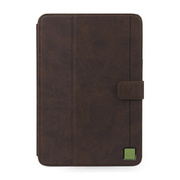【iPad mini3/2/1 ケース】Masstige Color Point Folio ブラックチョコ