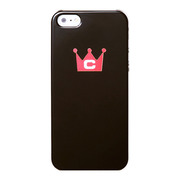 【iPhone5 ケース】CASECROWN iPhone5 Corset (BLACK-RED)