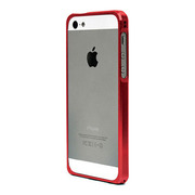 【iPhoneSE/5s/5 ケース】Alloy X (Red)