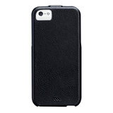 【iPhoneSE/5s/5 ケース】Signature Flip Case, Black