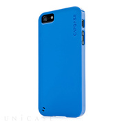 【iPhoneSE(第1世代)/5s/5 ケース】Soft Jacket 2 XPOSE with Screen Guard, Solid Blue