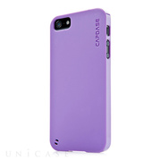 【iPhoneSE/5s/5 ケース】Soft Jacket 2 XPOSE with Screen Guard, Solid Purple