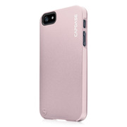 【iPhoneSE/5s/5 ケース】Alumor Metal Case with Screen Protector, Light Pink