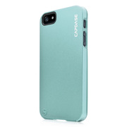 【iPhoneSE/5s/5 ケース】Alumor Metal Case with Screen Protector, Light Blue