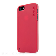 【iPhoneSE(第1世代)/5s/5 ケース】Soft Jacket 2 XPOSE with Screen Guard, Solid Red
