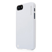 【iPhoneSE/5s/5 ケース】Alumor Metal Case with Screen Protector, White