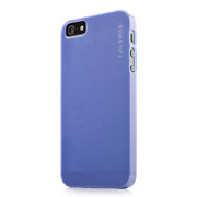 【iPhoneSE(第1世代)/5s/5 ケース】Soft Jacket Lamina Clear Blue