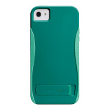 【iPhoneSE/5s/5 ケース】POP! with Stand Case (Emerald Green/Pool Blue)