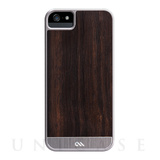【iPhoneSE/5s/5 ケース】Crafted Woods Case (Rosewood)