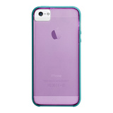 【iPhoneSE/5s/5 ケース】Haze Case (Lilac Purple / Pool Blue)
