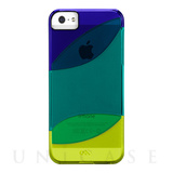 【iPhoneSE/5s/5 ケース】Colorways Case (Marine Blue/Emerald Green/Chartreuse Green)