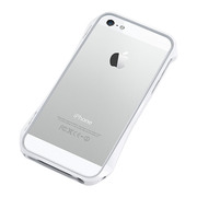 【iPhoneSE(第1世代)/5s/5 ケース】CLEAVE ALUMINUM BUMPER AERO (Luxury White)