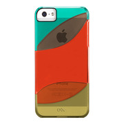 【iPhoneSE/5s/5 ケース】Colorways Case (Teal Blue/Orange/Sage Green)