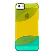 【iPhoneSE/5s/5 ケース】Colorways Case (Lime Green/Yellow/Turquoise)