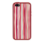【iPhoneSE/5s/5 ケース】POPTUNE (Stripe Red)【バンパー】