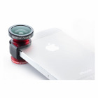【自撮りレンズ】olloclip lens system for iPhone 5 Red