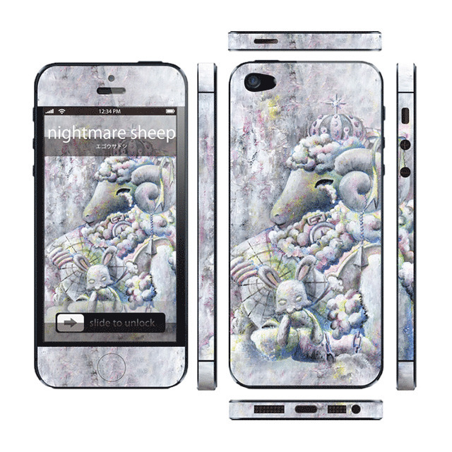 【iPhone5 スキンシール】Thinclo Thtyle 『 nightmare sheep 』