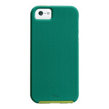 【iPhoneSE/5s/5 ケース】Hybrid Tough Case, Emerald Green/Chartreuse Green