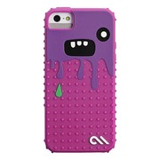 【iPhoneSE/5s/5 ケース】Creatures (Monsta Case, Dark Pink / Purple)