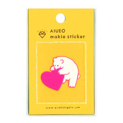 makie sticker polar bear PK