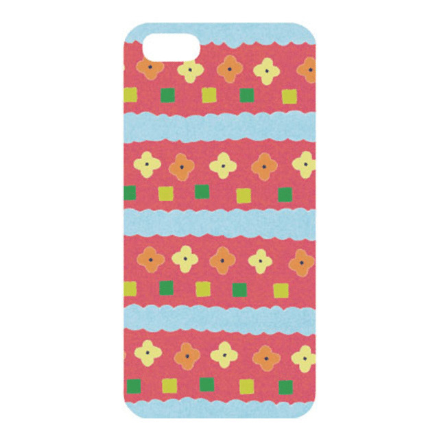 【iPhoneSE/5s/5 ケース】iPhone Case HANA RD