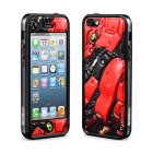 【iPhoneSE/5s/5 ケース】Cushi Plus (Robotics Red)【バンパー】