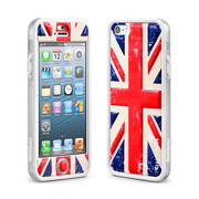 【iPhoneSE/5s/5 ケース】Cushi Plus (Flag England)
