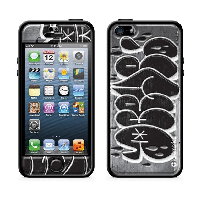 d647ed7b21 iPhoneSE/5s/5 ケース】Cushi Plus (Graffiti Gray) id America | iPhone ...