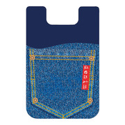 【iPhone】Smart Wallet Blue Jeans