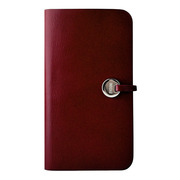 【iPhone5 ケース】Leather Arc Cover_iPhone5 Wine