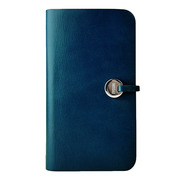 【iPhone5 ケース】Leather Arc Cover_iPhone5 Blue